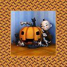 Assault on the Pumpkin - orange by Roberta Angiolani