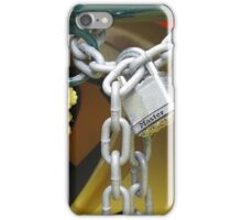 Lock on Canoes iPhone Case/Skin