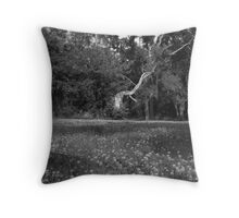 Fawn Clover  Throw Pillow