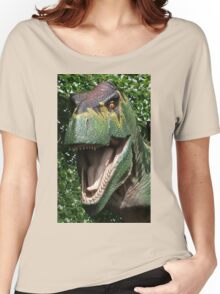 Dinosaur's yearbook photo Women's Relaxed Fit T-Shirt