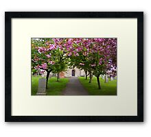 The Churchyard Framed Print
