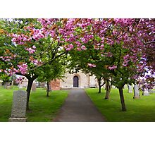 The Churchyard Photographic Print