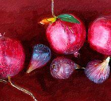 Figs and Pomegranates_St. Helena, CA by Ron Regalado