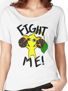 Fight Me! (Yellow Pikmin) Women's Relaxed Fit T-Shirt