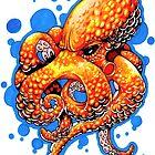 """""""Revenge of The Orange Octopus"""" by dsilva"""