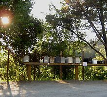 Big Sur Mailboxes by jdbussone