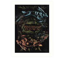 Watership Down alternative book cover Art Print