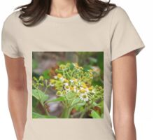 Guatemalan Wild Flowers Womens Fitted T-Shirt