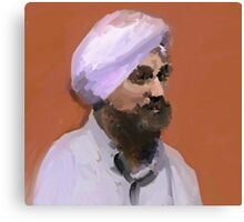 Turbaned Canvas Print