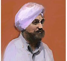 Turbaned Photographic Print