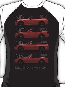 Mazda MX-5 25 years T-Shirt