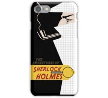The adventures of sherlock holmes iPhone Case/Skin