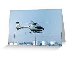 Eurocopter EC135T1 Greeting Card