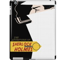 The adventures of sherlock holmes iPad Case/Skin