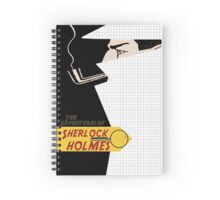 The adventures of sherlock holmes Spiral Notebook