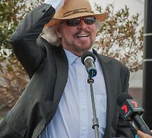 Barry Gibb at Redcliffe 2013 by Karen Duffy