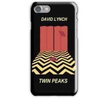 Twin Peaks: Red Room iPhone Case/Skin