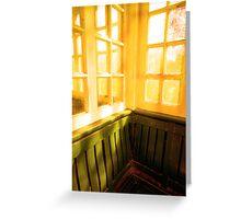 carreaux ensoleillés Greeting Card