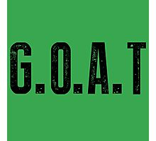 G.O.A.T Photographic Print