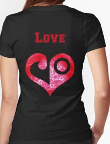 Digi Campus - Love Womens Fitted T-Shirt