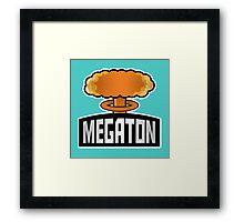 Megaton Explosion Framed Print