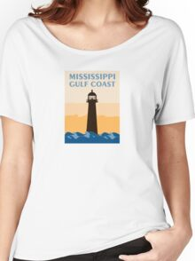 Gulf Coast - Mississippi. Women's Relaxed Fit T-Shirt