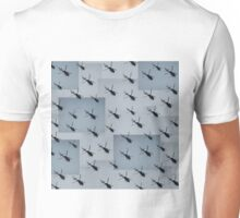 Helifly gray grey - Helimosca gris Unisex T-Shirt
