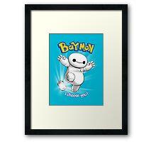 Baymon Framed Print