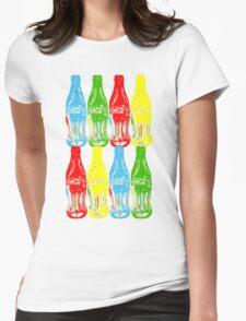 Pop Art  Womens Fitted T-Shirt