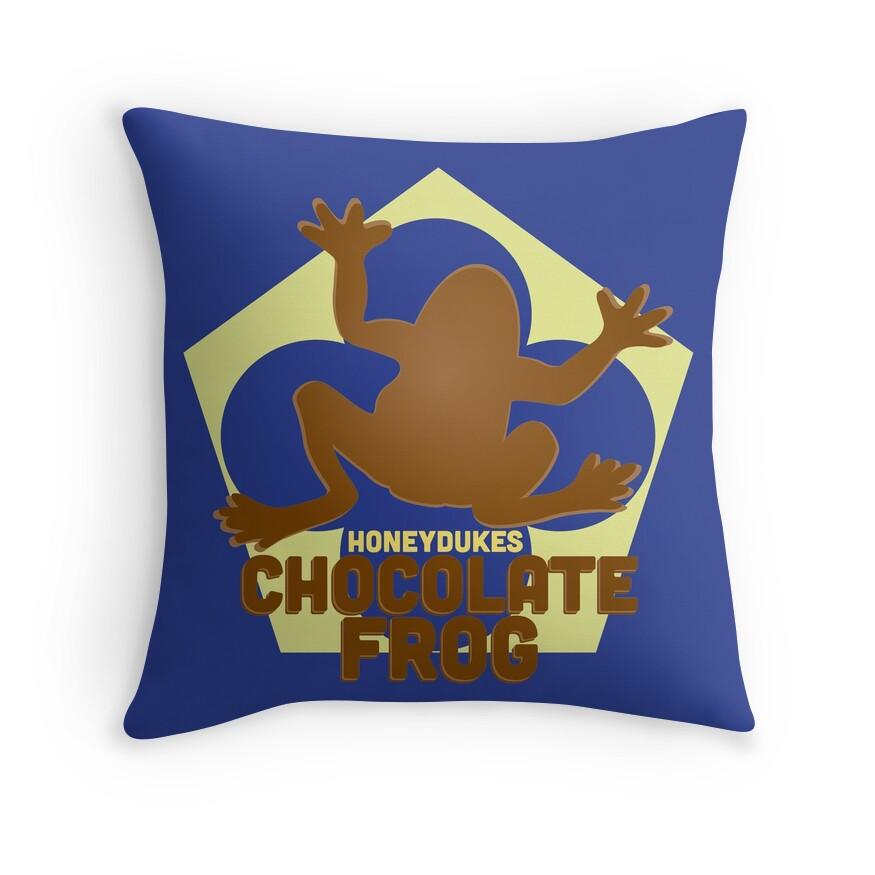 Chocolate Frog - Harry Potter | Throw Pillow