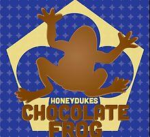 Chocolate Frog - Harry Potter by Daniela Walker Reed
