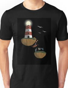 In Accordance with the Ocean Shore Unisex T-Shirt