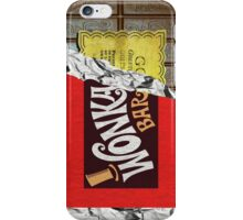 Willy Wonka Chocolate Bar iPhone Case/Skin