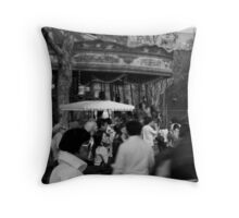 Activity in London Throw Pillow