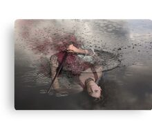 """Lady of the Lake"" Canvas Print"