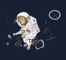 Space Monkey and Solex by Beub