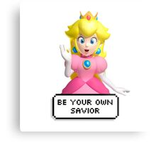 BE YOUR OWN SAVIOR Metal Print