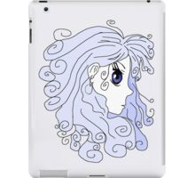 The Purple Haired Person iPad Case/Skin