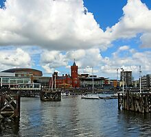 Cardiff bay, Wales, UK by buttonpresser