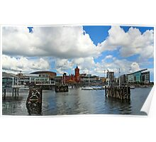 Cardiff bay, Wales, UK Poster