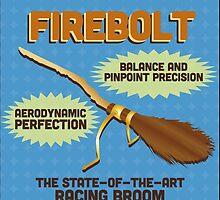 Firebolt - Harry Potter by Daniela Walker Reed