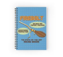 Firebolt - Harry Potter Spiral Notebook
