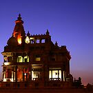 Back view for Baron Palace by isaacsfotos
