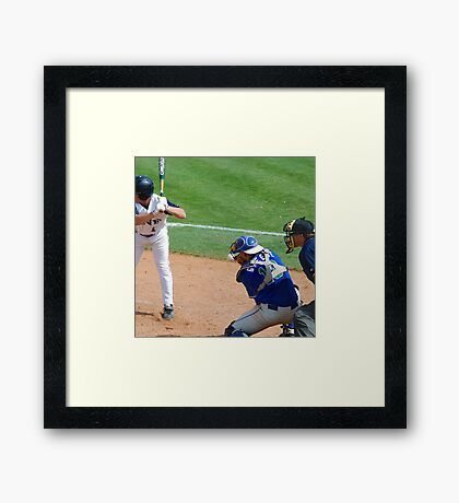 baseball world cup championship Framed Print