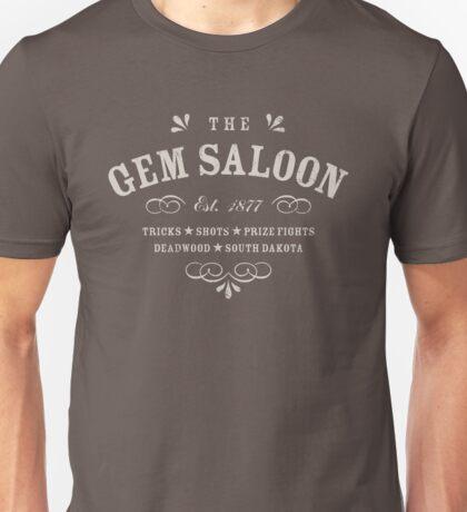 The Gem Saloon, Deadwood Unisex T-Shirt