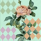 Antique Rose With Diamonds by PeopleInMyHead