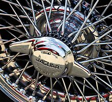 Alloy wheel on Jaguar mark 2 by buttonpresser