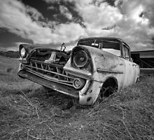Car Graveyard - Morgan, SA by AllshotsImaging