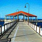 Redcliffe Pier, Queensland by Karen Duffy