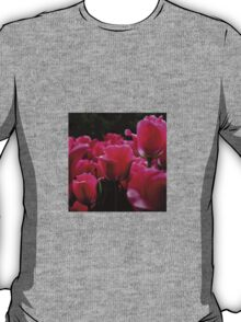 pink beautiful smell flowers T-Shirt